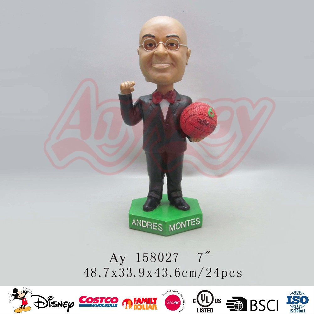 POP NBA baseket ball player bobble head toy promotional bobble head