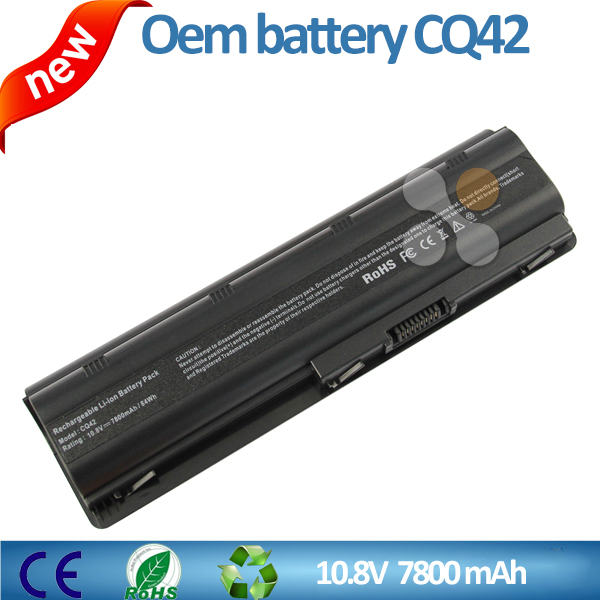 10.8v 7800mah Laptop battery for hp CQ32 CQ42 CQ62 593553-001 MU06 MU09 G6 Series