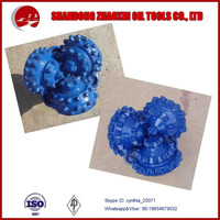 High-quality drill rig parts Steel teeth/Insert Tricone drill bits for oil well