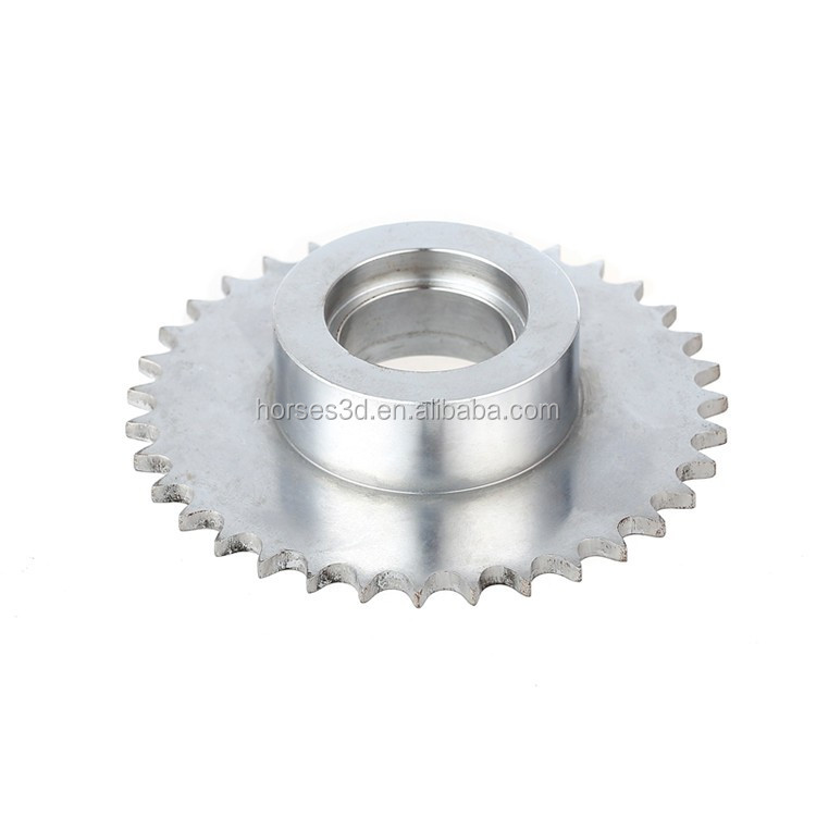 custom steel transmission gear bevel gear for bicycle