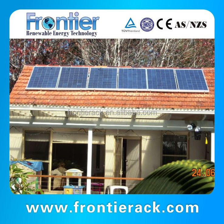 Solar Panel Roof PV Mount Kit