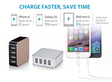 alibaba china market 5V 5A 4 USB phone charger, usb charger for samsung galaxy s6 edge, apple mobile