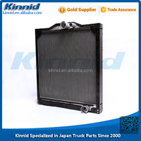 Hot Sale Heavy Duty Truck Engine Radiator with Cap for MITSUBISHI FUSO 8DC9 6D24 Mixer Parts