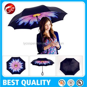 inside Out Drip-free Inverted Umbrella for Car