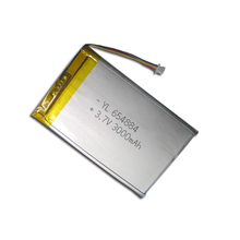 3.7v 3000mah Lipo Battery Pack, Rechargeable Lithium Polymer Ion Battery wrap