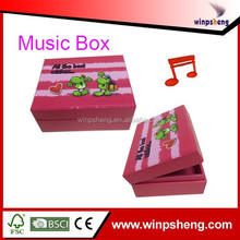 Music Box Insert/Push Button Music Boxes