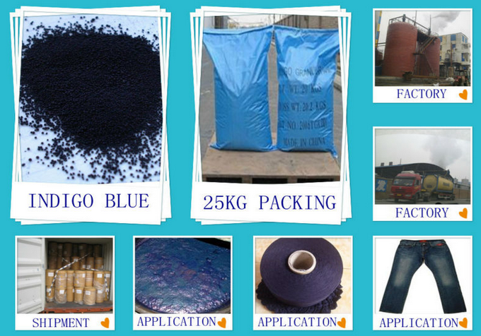 Vat Indigo blue granular/powder 94% for clothing