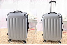 factory supplier popular simple design 24 inch ABS girls and boys teenagers trolley luggage suitcase