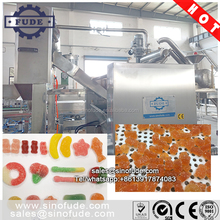 Automatic gummy jelly soft candy pectin Gelatin carrageenan candy making machine