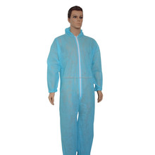 Disposable Protective Clothing <strong>Safety</strong> SMS/PP/ Microporous Nonwoven Workers Coverall