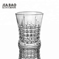 glass engrave decorative diamond whiskey glass cup 9oz
