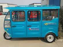hot sale closed petrol tricycle for passenger