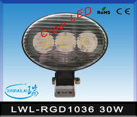 30w RGD1036 cree 24v machine led work lights waterproof IP68