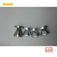 China factory precision machining custom aluminum baffles machined silencer parts