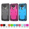 For LG G5 Heavy Duty Case Impact Resistant Shockproof Hybrid Armor Kickstand Cover