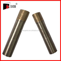 6mm straight shank sintered diamond core drill bits for drilling glass