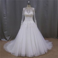 Wholesale celebrity inspired embroidery ball gown strapless beading netting aline wedding dresses