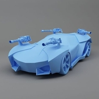 Professional rapid 3D printing car model,SLA 3D Printing plastic car model prototype