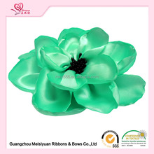 "cheap 6"" Oversize decorative satin flower corsage for dress"