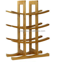 Modern 12 bottle Imitation Bamboo Wine Rack/standing kitchen and home wine rack
