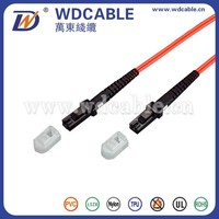 Wandong MTRJ-MTRJ Multi Mode Optical Fiber Patch Cord