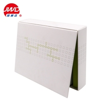 Wholesale handmade medicine packaging paper box with bright silver foil