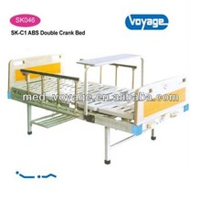 Triple-Crank Hospital Manual Bed with Cradle