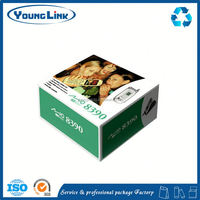 tea packaging box with ribbon decoration