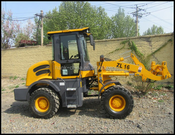 High quality diesel wheel loader with Euro-3 emission standard