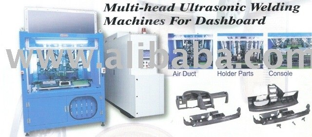 Multi-head Ultrasonic Welding Machine