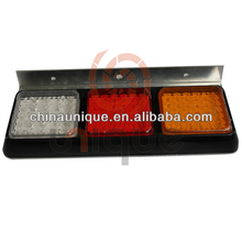 2014 New Design Custom LED Truck Taillight With Aluminum Back Plate