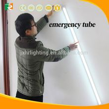 CE ROHS Battery rechargeable led tube light back up 3 4 hours