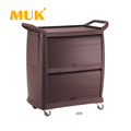 MUK wholesale hotel reataurant kitchen serving cart 2030-series multifunction trolley