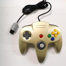 Wired game controller game pad joystick for N64 nintendo switch console video game gold