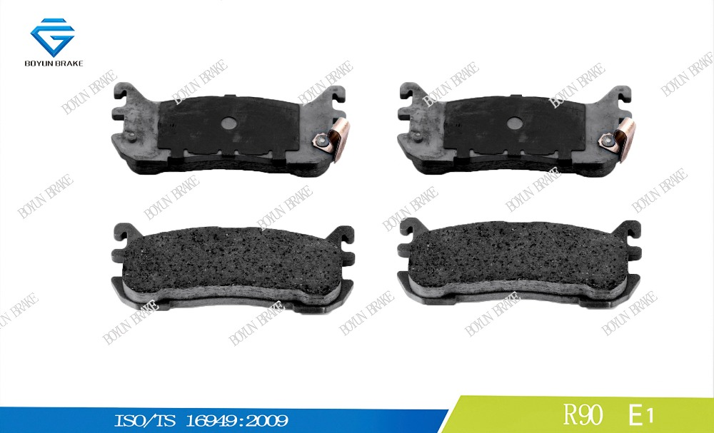 Car disc brake pad D636 NAY52643Z 23387