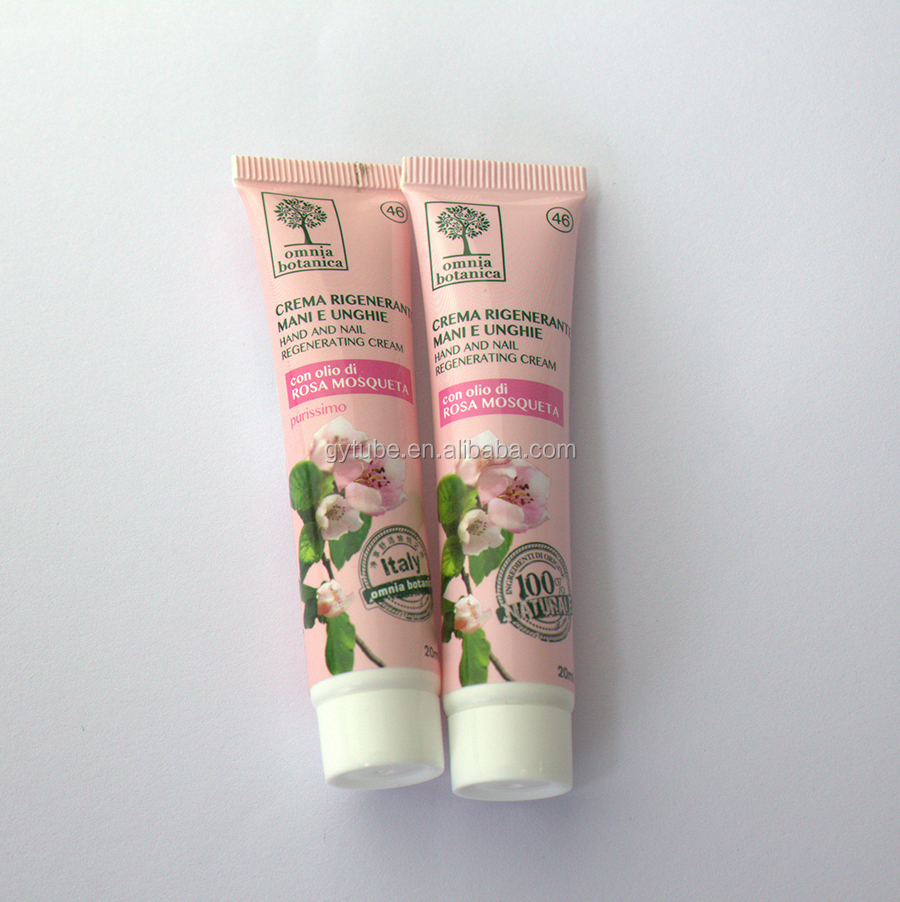 Eco-friendly pe tube motion potion hospital packaging tube top quality