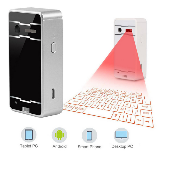 Portable Mini Wireless Bluetooth Virtual Laser projection Keyboard Para Teclado Computer Projection Keyboard