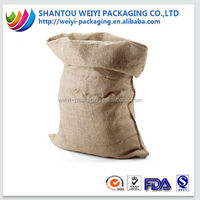 Jute cocoa bean sack/ fat sack bean bag/ big bag sack