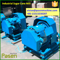powerful commercial sugar cane process / 3 roller sugar cane juicer / commercial using sugarcane juicer