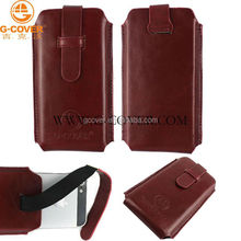 Leather sleeve for iphone 5 case pu leather case for iphone 5