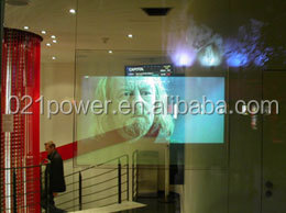 3m vikuiti film/self adhesive transparent rear projection film for shop advertising