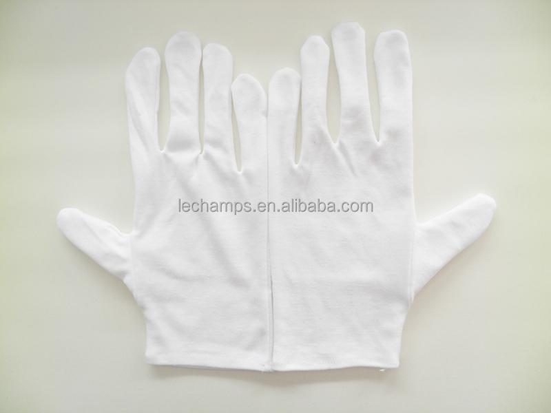 Clean Room Gloves Lint Free Assembly Gloves 100% Cotton Gloves