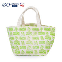 BSCI Directly Factory Wholesale Reusable Shopping Bags Fashion Canvas Shopping Bag