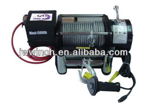 4wd accessories JW Electric winch Off-road vehicle