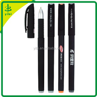 JD-C487 hot selling cheap promotion slim fancy business gift plastic custom logo good quality gel ink pen