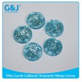 Guojie brand factory price flatback W10 aquamarine andFactory direct sale resin stone