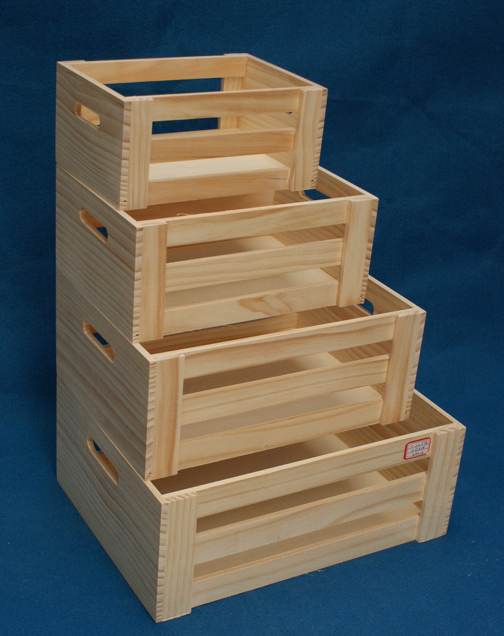 Used wooden crates for fruit for sale view wooden crates for Wooden fruit crates