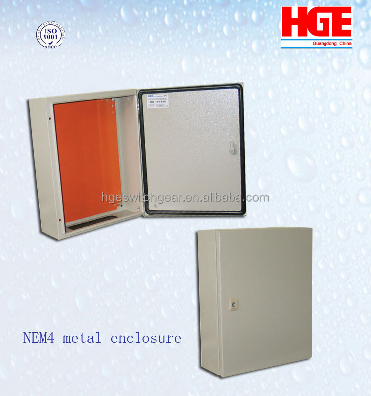 Precision OEM stainless steel NEMA 4 metal box metal Enclosure
