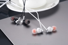 Factory Wholesale Custom Logo Wired Earphone, Stereo Earpiece, In Ear Earbud with Mic