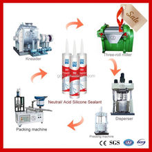 machine for vinyl sealing silicone sealant